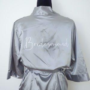 "💙NEW💙 Silky ""Bridesmaid"" Robes"